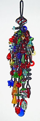 beaded tassel by Robin Atkins, Stained Glass