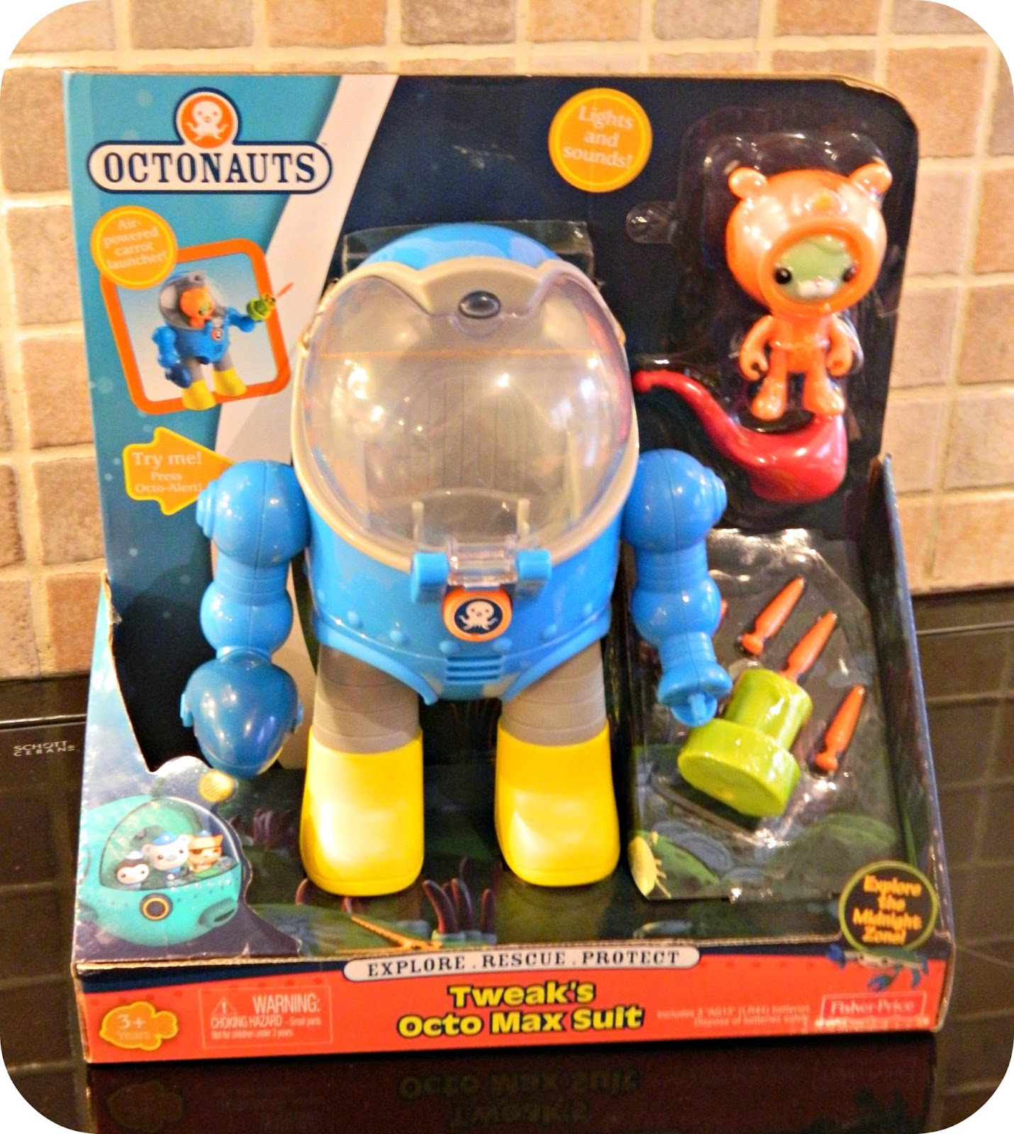 Octonauts Tweak's Octo Max Suit