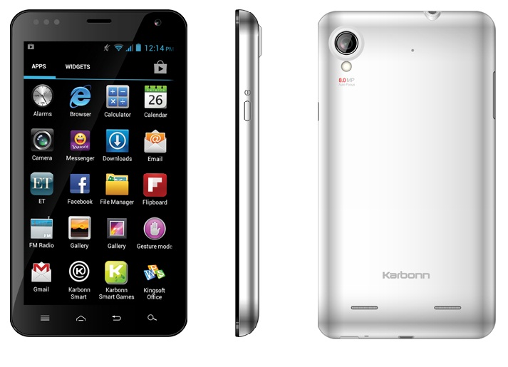 Karbon A30, Karbon Smartphone