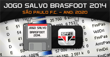 Baixar Jogo Salvo Brasfoot 2015 - São Paulo 2020 Download