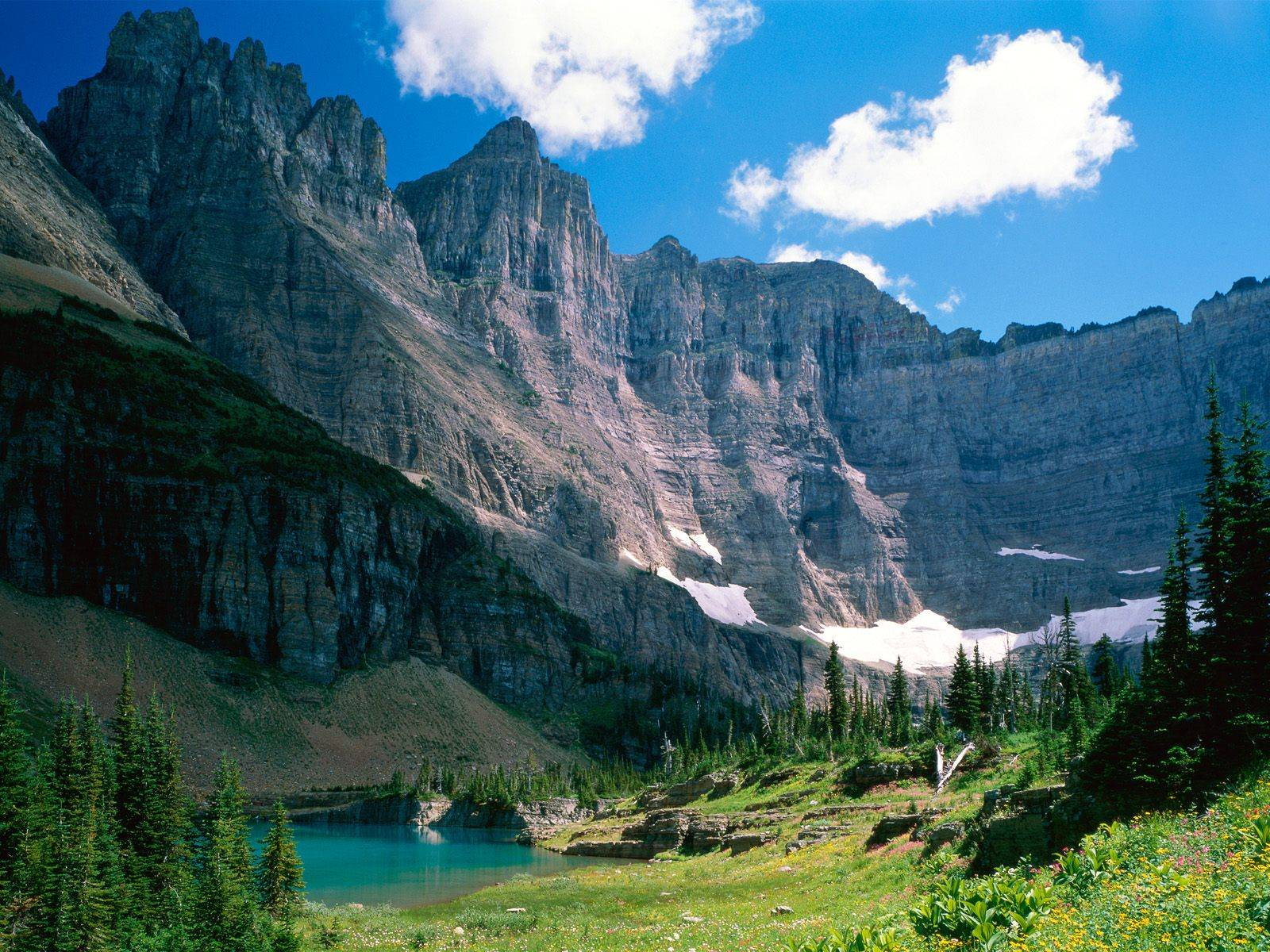World Beautifull Places Glacier National Park Usa