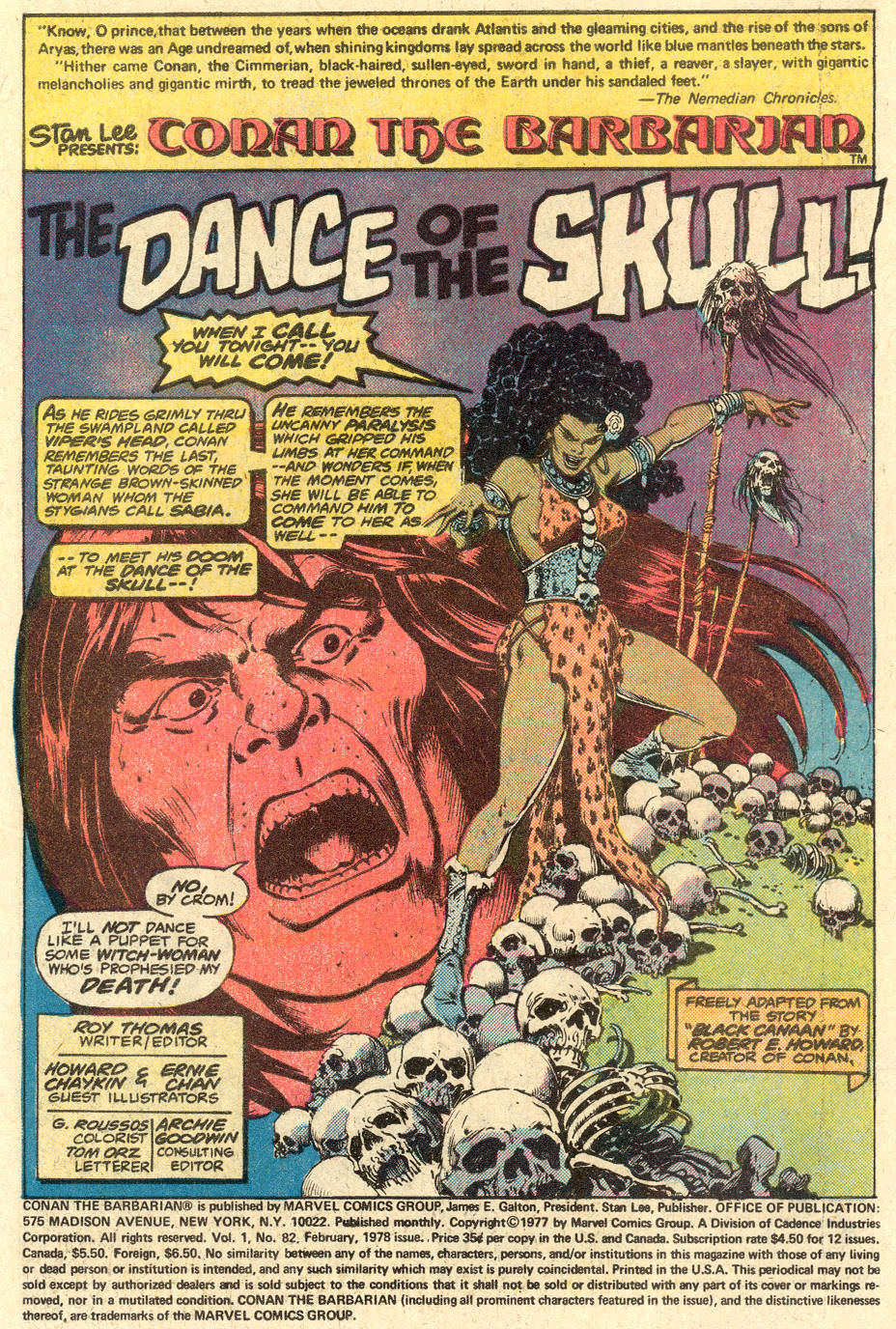 Conan the Barbarian (1970) Issue #83 #95 - English 2