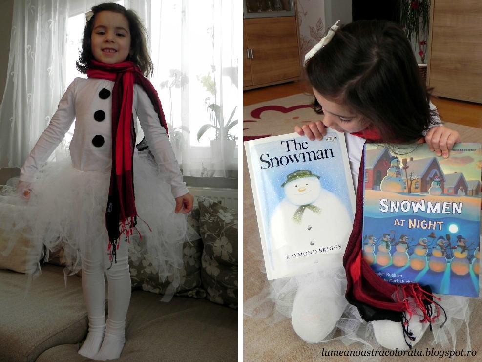 fetița mea de zăpadă