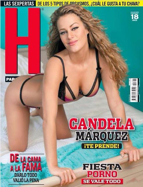 Candela Marquez Revista H para Hombres Septiembre 2015