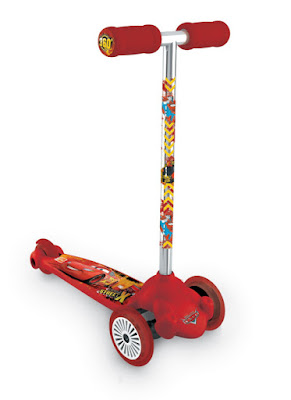 JUGUETES - PATINETER Twist & Roll | Disney Cars 2 Patinete Infantil de 3 ruedas  Mondo | Comprar en Amazon