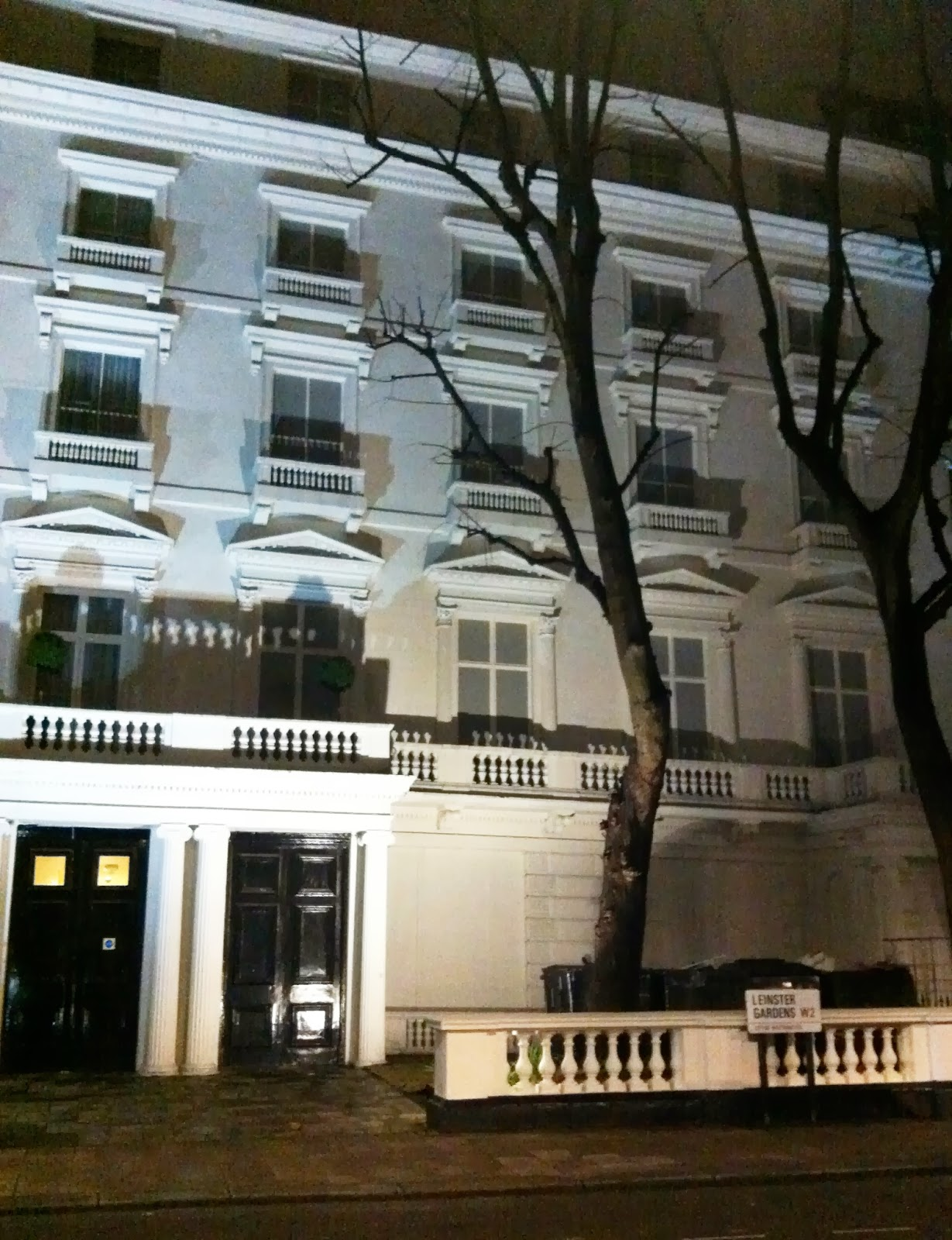 Sherlock and the lie of Leinster Gardens - Geek Girl Kerensa Bryant blog header