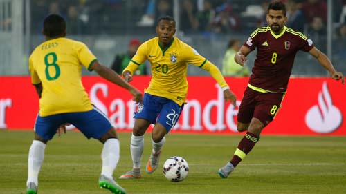 Copa America, 2015, Highlights, Goal, Brazil, ft, Venezuela