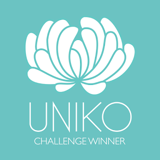I was a winner for Uniko challenge #55