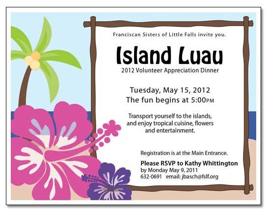 luau flyers