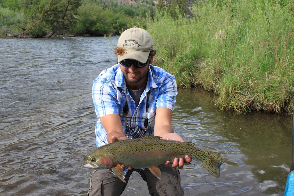 Fishing with az wanderings jay scott outdoors colburn for Camping and fishing in colorado