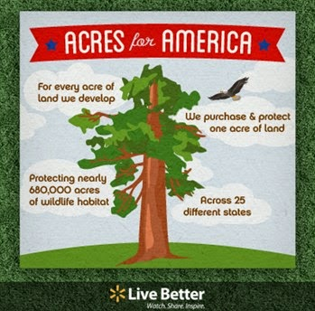 Walmart's Acres for America program has helped protect Salmon Creek Forest and nearly 680,000 acres of land across 25 states