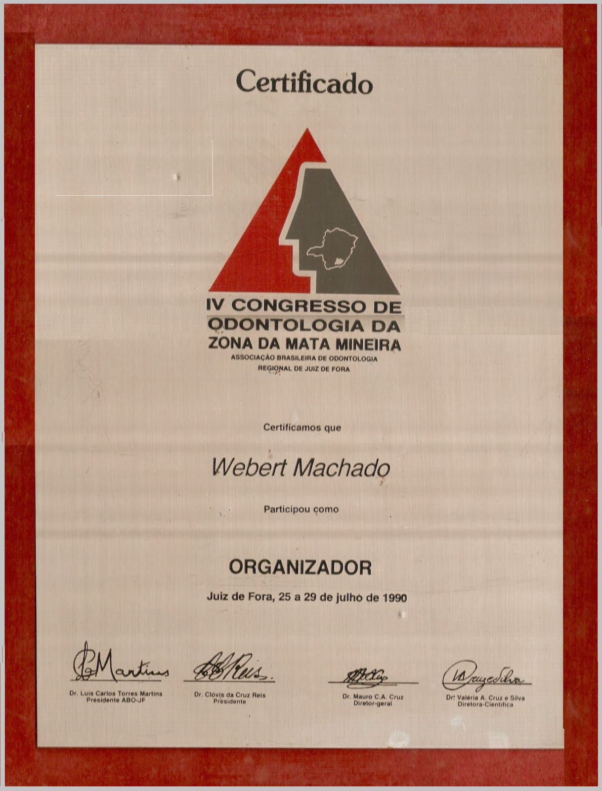 ABO JF - Associação Brasileira de Odontologia Regional Juiz de Fora MG