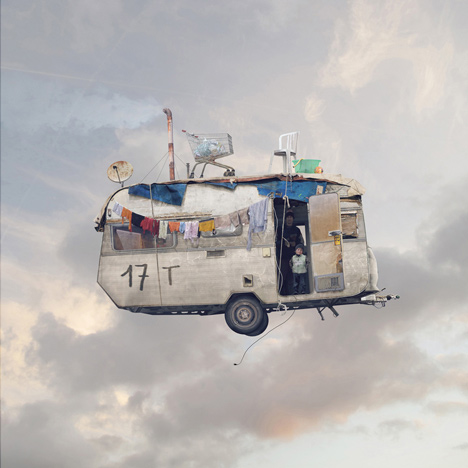 Flying Houses - Caravane  2012