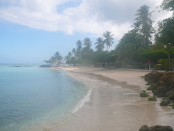 Beach at Pigeon Point -- Crown Point, Tobago