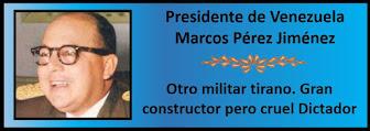 Fotos del Presidente Marcos Pérez Jiménez