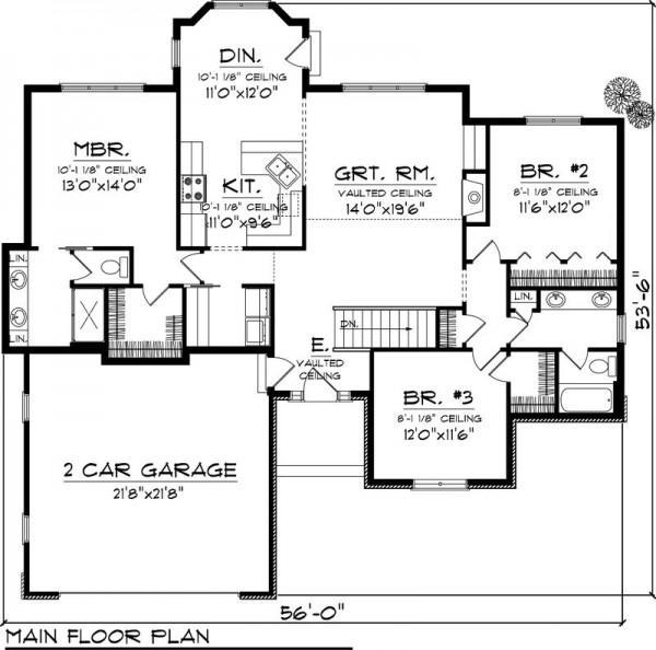 Planos de casas modelos y dise os de casas planos de for Plano de casa quinta moderna