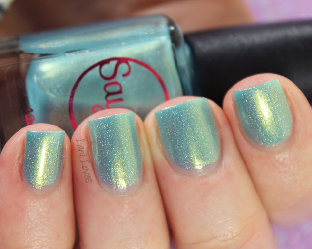 Sayuri Nail Lacquer - Bon Bon nail polish swatches & review