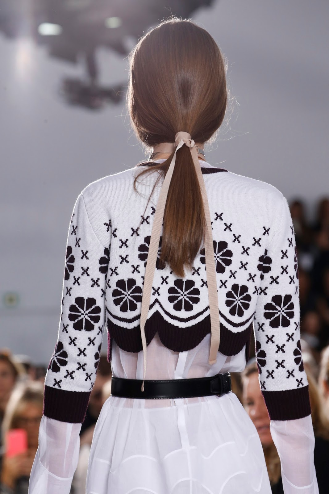 Spring/Summer 2016 trend report / Christian Dior SS16 / ribbons & bows via www.fashionedbylove.co.uk