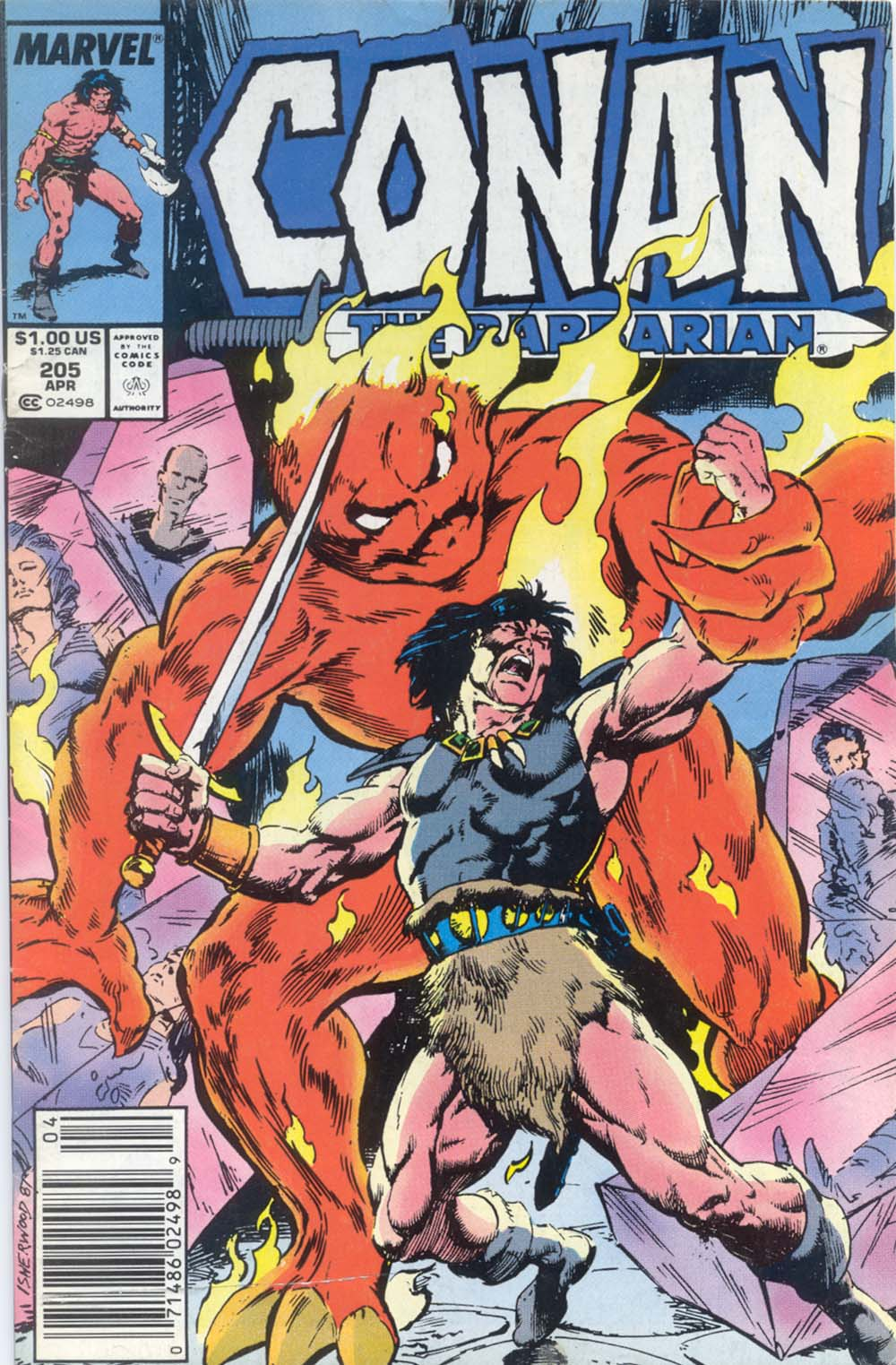Conan the Barbarian (1970) Issue #205 #217 - English 1