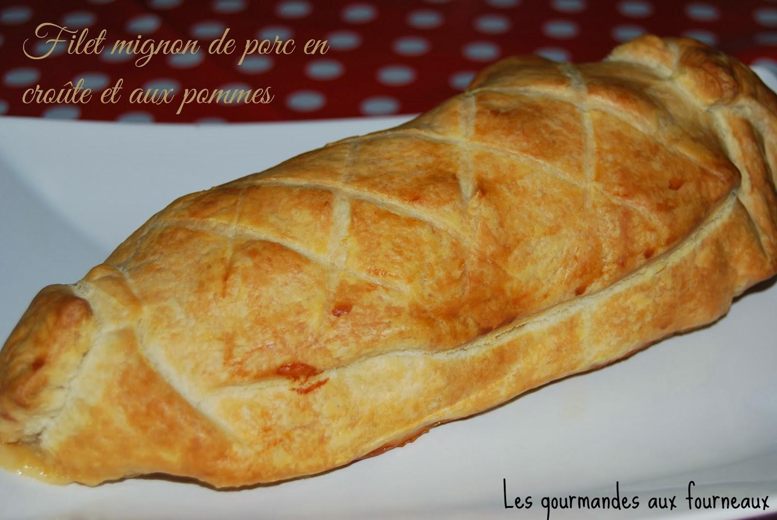 ... aux fourneaux: Filet mignon de porc en croûte et aux pommes