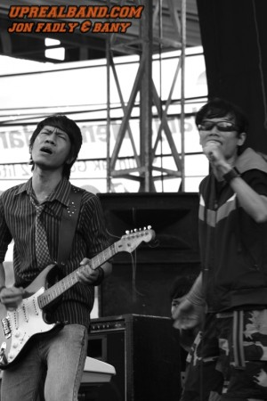 Photo-photo Event uprealband (Band Indie Depok)