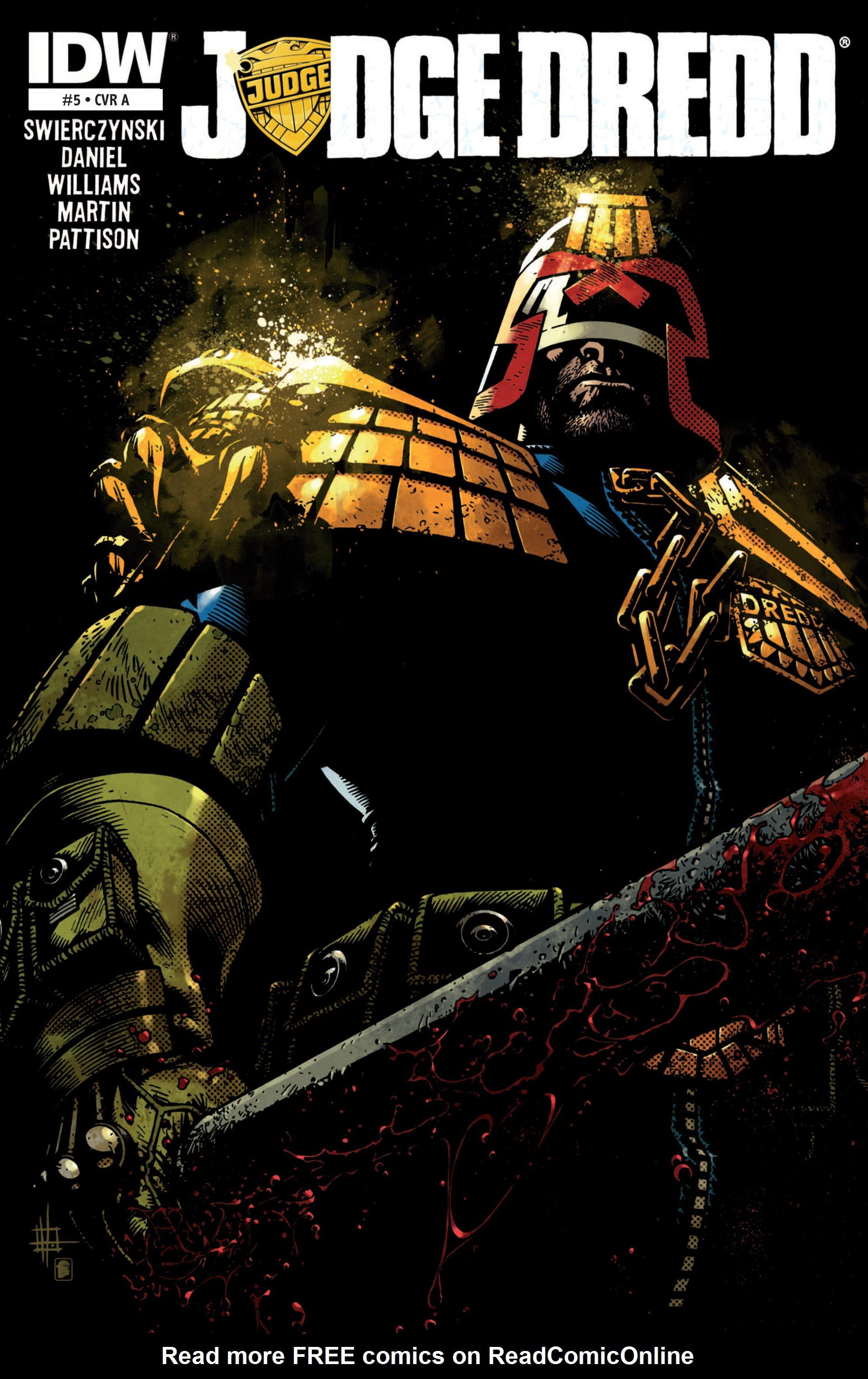 Read online Judge Dredd (2012) comic -  Issue #5 - 1