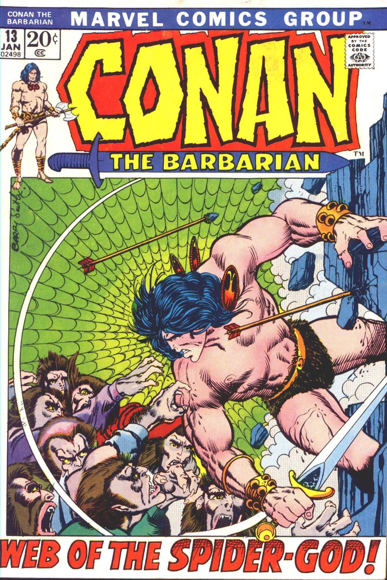 Conan the Barbarian (1970) 13 Page 1