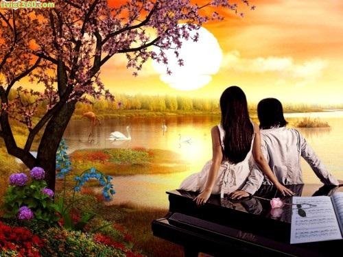 Hình ảnh về tình yêu đẹp lãng mạn nhất, ảnh yêu nhau