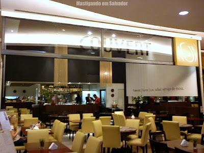 Restaurante Couvert: Fachada da loja do Salvador Shopping