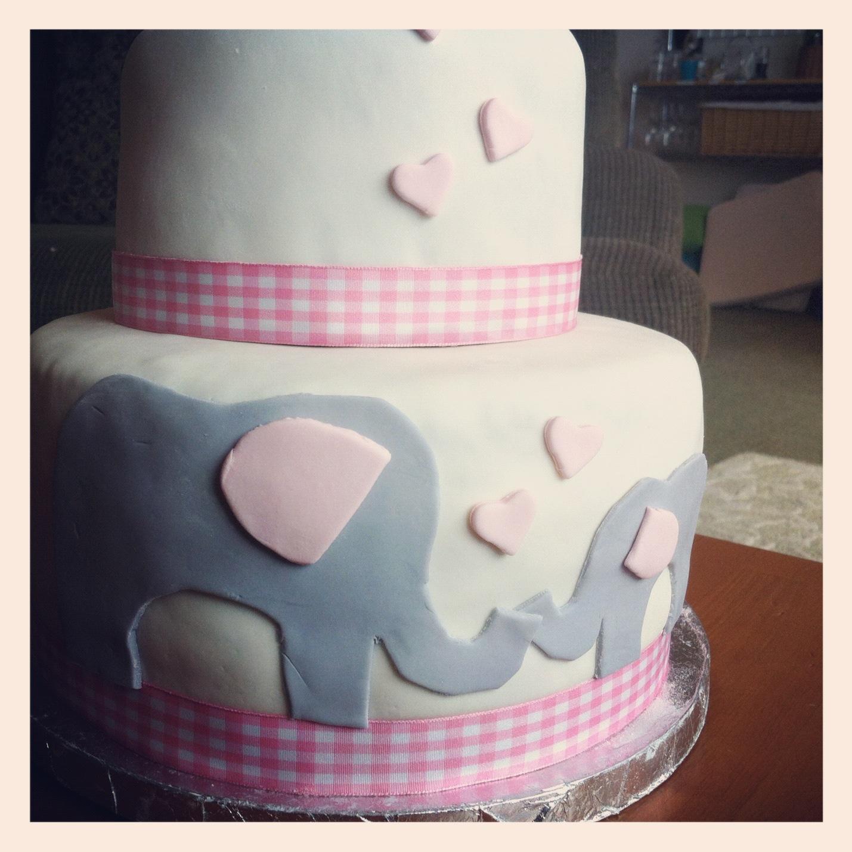 vaginal birth cake baby shower cake