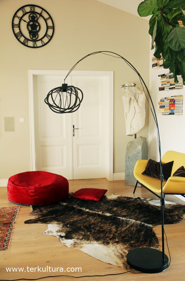 Materials  Ikea Regolit lamp, Ligne Roset Bloom lamp