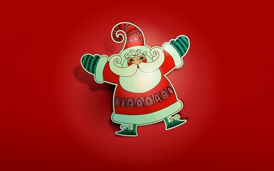 santa claus hd wallpaper 2013