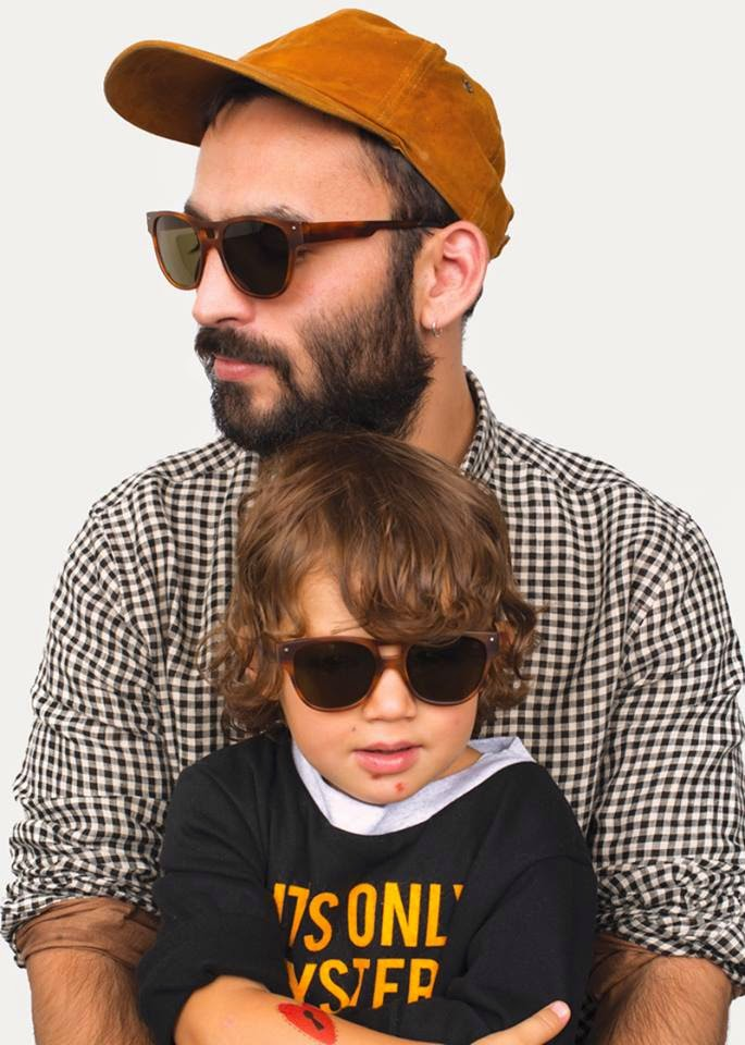 Very French Gangsters dad and son sunglasses - Autumn-Winter 2014/15