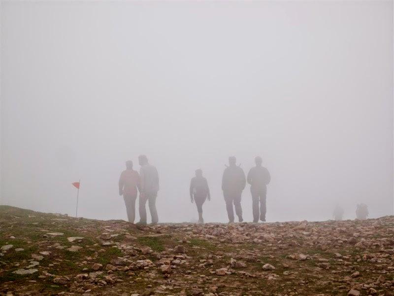 Niebla en el Gorbea