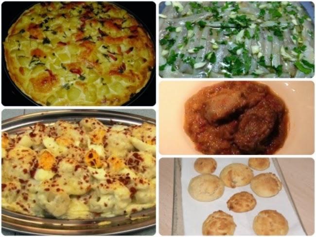 Menú con Cinco Recetas nº 21