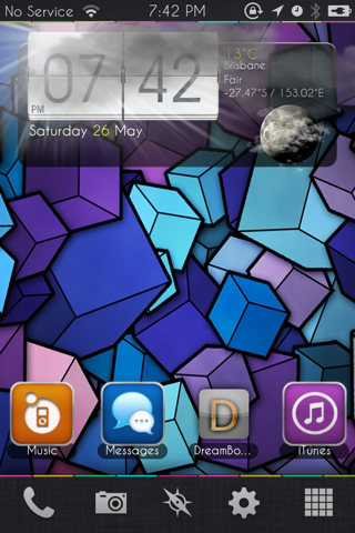 Homescreen Xtreme S HD
