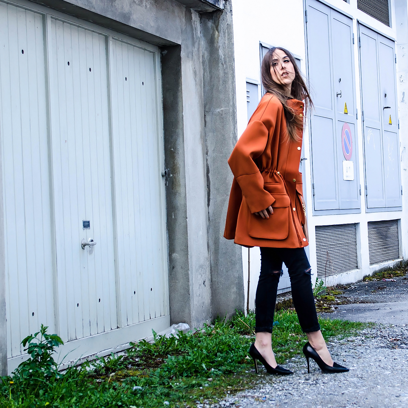alison liaudat, blog mode suisse, swiss fashion blogger, fashion blog switzerland, filini necklace, statement necklace, H&M trend collection, orange make up, ss15 trend, Schweizer bloggerin,
