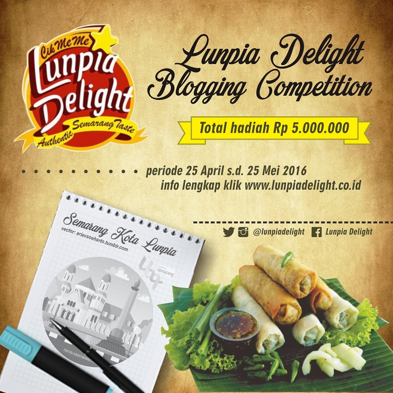 Blog Competition - Lunpia delight