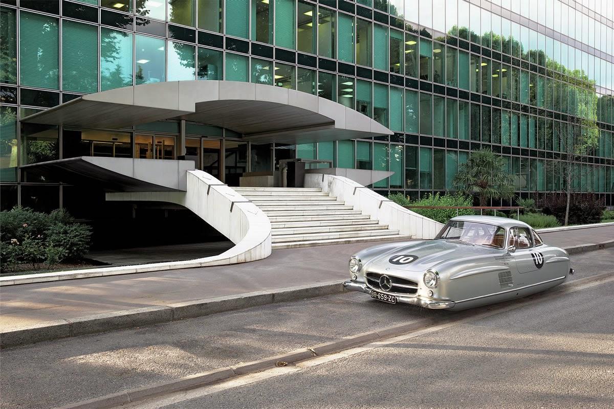 Mercedes Benz 300 SLO Shea