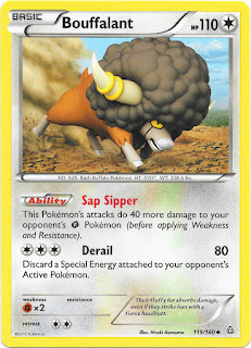 Bouffalant Primal Clash Pokemon Card