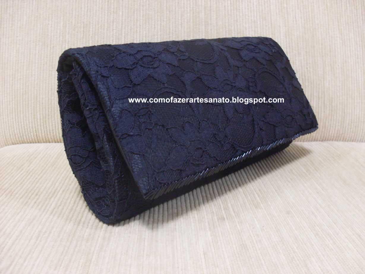 Bolsa De Mão Artesanal Passo A Passo : Artesanato passo a bolsa para casamento em tecido