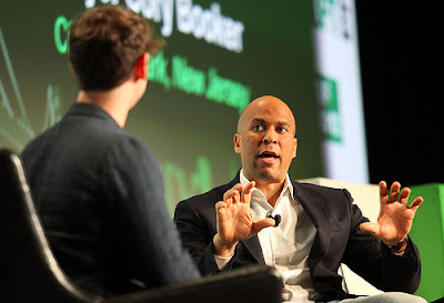 Senator Cory Booker (Dem, NJ) is one of the sponsors of the legislation. (Photo by TechCrunch)