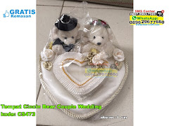 Tempat Cincin Bear Couple Wedding