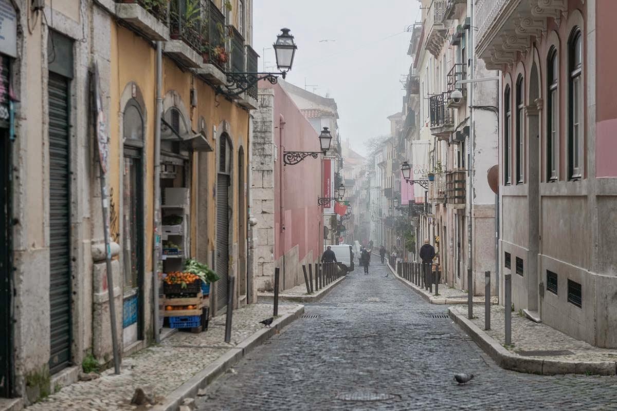 Lisboa / Rua da Rosa