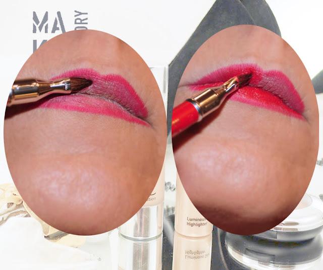 Lippenpinsel Lippenstift