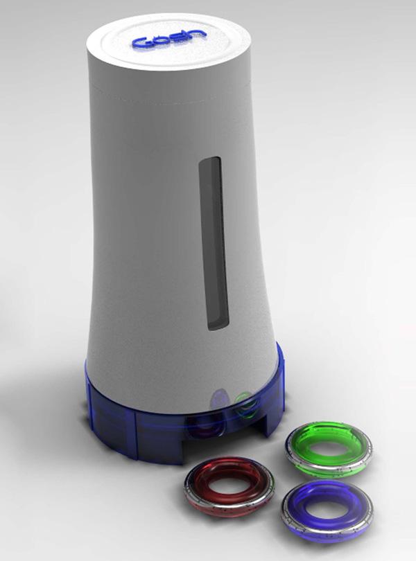 Инновационный дозатор для жидкого мыла Gosh