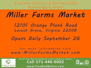 Pumpkin Patches near Woodbridge Virginia 2015, Miller Farms Market Locust Grove Virginia