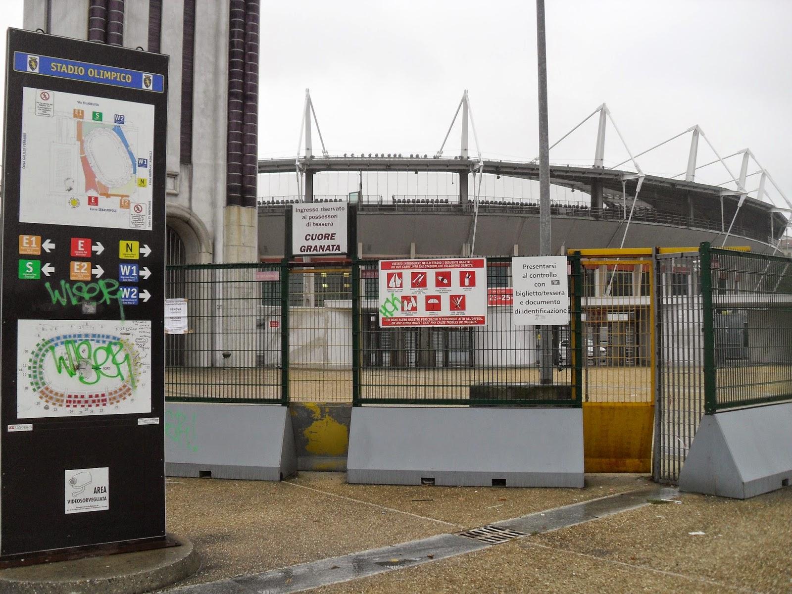 Estadio Olímpico, Turín
