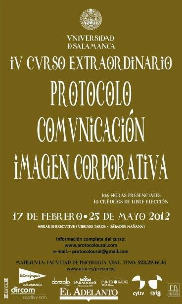 curso protocolo Universidad de Salamanca