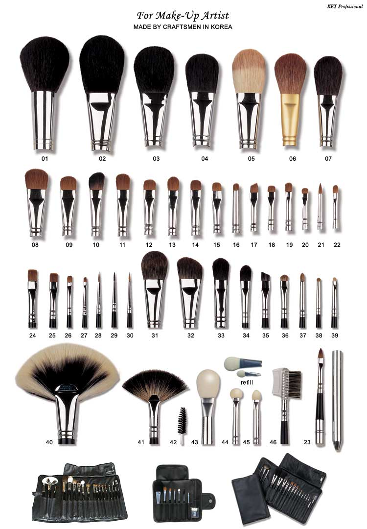 Food Fashion Home Cleaning Makeup Brushes Pro Style